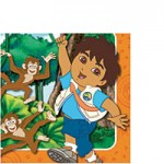 GO DIEGO GO NAPKINS